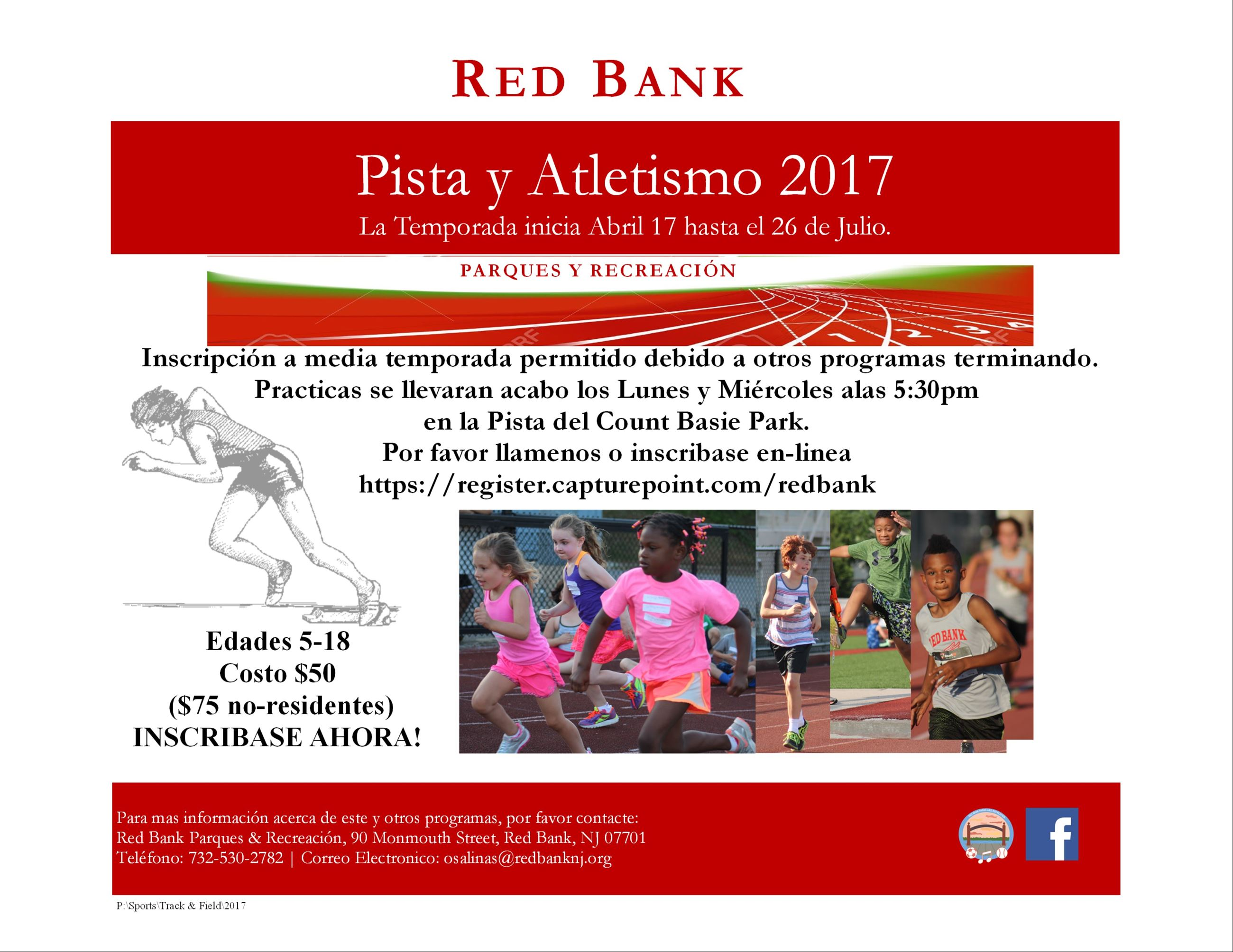 Track and Field Spanish Flyer