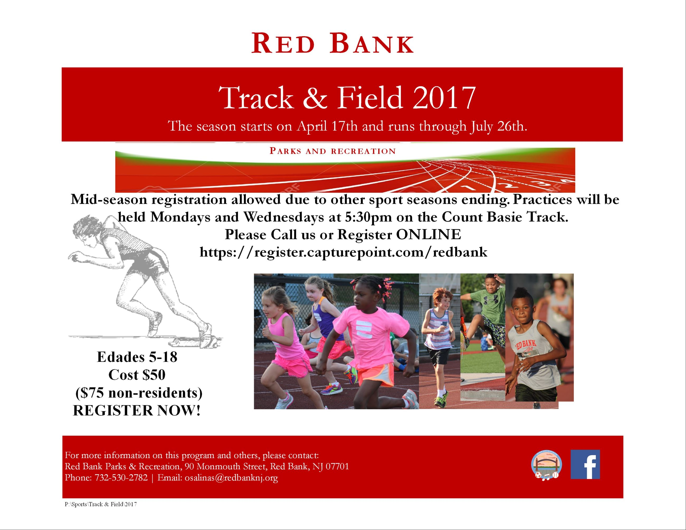 English Track and Field Flyer 2017