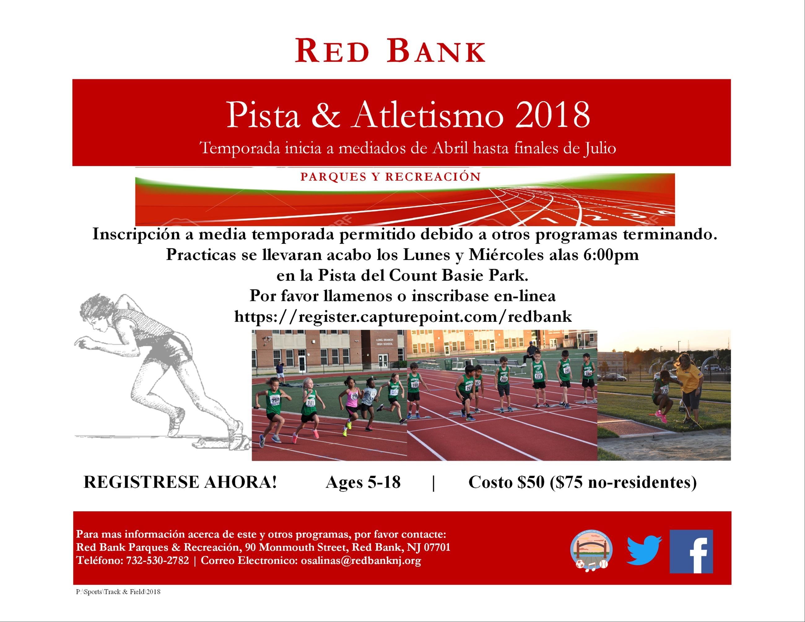 Track and Field Spanish Flyer 2018