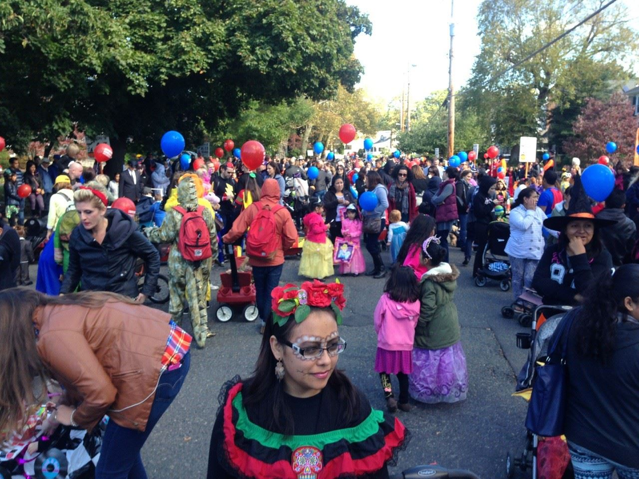 Halloween Parade in Red Bank