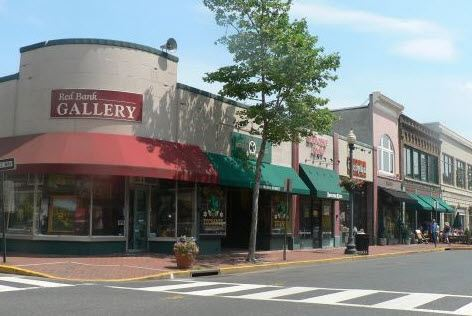 Downtown Red Bank Shopping
