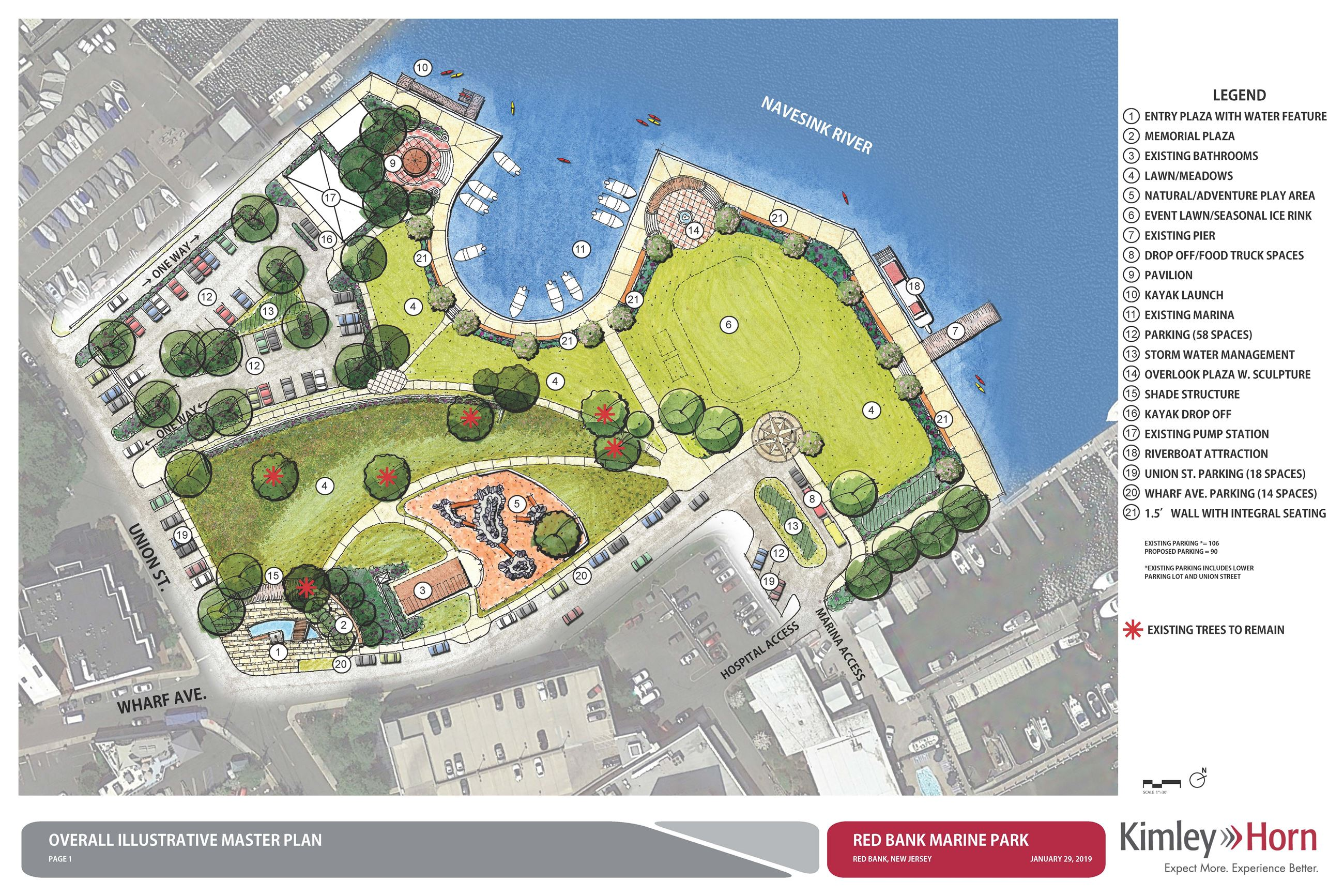 Marine Park Final Concept Master Plan 2019 Opens in new window